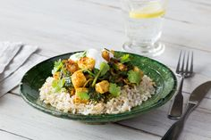 Paneer & Spinach Curry