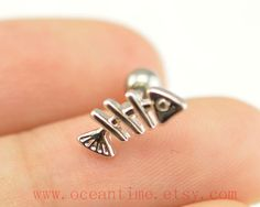 fish Tragus Earring Jewelry little fish piercing by OceanTime, $4.99