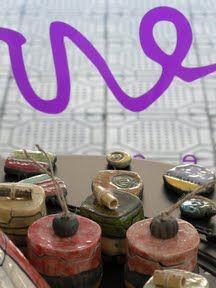 Sanone Rubertou, raku exhibition @evvivanoé esposizioni d'arte in cherasco (Cuneo)