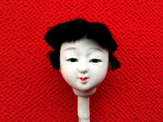 Japanese Doll Head Hina Matsuri Doll Festival Girl's Head D5-8 Japanese Doll by FromJapanWithLove on Etsy