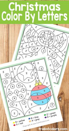 Ready for Christmas? We shared a few lovely winter color by letter printables in the past few weeks so we [Continue Reading]