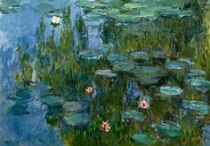 Seerosen (Nympheas)  by Claude Monet Art And Illustration, Monet Paintings, Impressionist Paintings, Landscape Paintings, Artist Monet, Photo Print, Lily Pond, Post Impressionism, Renoir