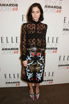 Pin for Later: Le Glamour Était au Rendez Vous Lors des Elle Style Awards Leigh Lezark