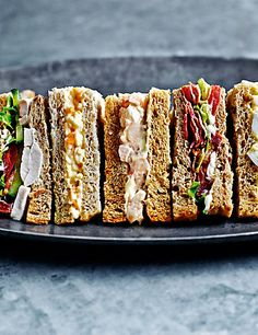 Classic Selection (14 Sandwich Quarters) | M&S