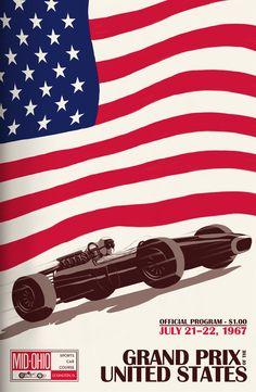 F1 Retro & vintage posters II - Taringa!
