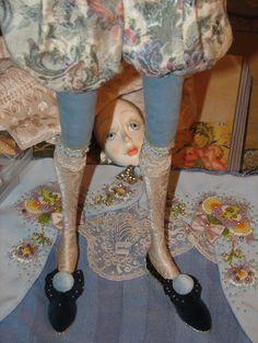 Работа над новой куклой