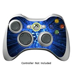 Skin Stickers for Xbox 360 Controller  Vinyl Leather Texture Sticker for X360 Slim Wired Wireless Game Controllers  Protectors Stickers Controller Decal  Blue Explosion  Controller Not Included  -- You can find out more details at the link of the image.Note:It is affiliate link to Amazon.