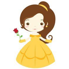 baby disney princesas clipart - Buscar con Google