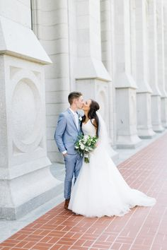SLC Temple Wedding // Utah Fine Art Photographer // kenzievictory.com