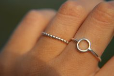 AURA RING sterling silver ring made to order by OnyriaJewelry