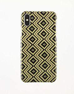 Carbon fiber phone cases - iPhone X Jacquard Yellow Carbon and Aramid fiber case iPhone X, Apple Iphone Phone Cases, Carbon Fiber, Apple, Yellow, Apple Fruit, Apples, Gold