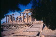 # Templo de Afaia.  * Ilha de Égina *   Grécia Arquipélago das Ilhas Sarônicas.