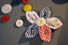 How to sew a pretty 5 petals fabric flower