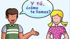 What is your name? - ¿Cómo te llamas?, via YouTube.