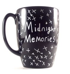 MIDNIGHT MEMORIES Mug 1D One Direction Hand by PrairieLoops, $7.95