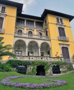 Villa Rusconi Clerici a Verbania, Lago Maggiore