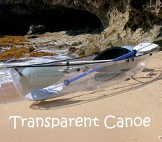 See under the sea  with this AWESOME Transparent Canoe! It's a whole new, exhilarating and exciting way to experience the water.