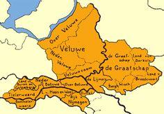 Gelderland - deelgebieden → Hier zijn op de oost Veluwe wat leemten: IJsselvallei, Zuid-Oost Veluwe, Poldergebied, NO-Veluwe...