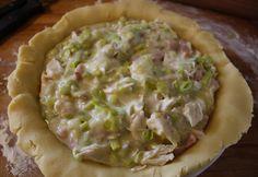 Chicken and Leek Pie   Chez Le Rêve Français