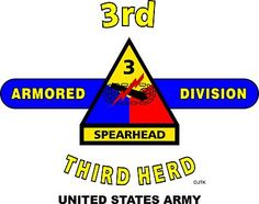 "3rd Armored Division "" Third Herd"" United States Army Shirt.  World War II  Mediterranean & European Campaigns: Normandy*Northern France*Rhineland* Ardennes-Alsace*Central Europe.  (August 1945 Location: Darmstadt, Germany.)  (Killed In Action:1,810)  (Wounded In Action:6,963)  (Died Of Wounds: 316)"