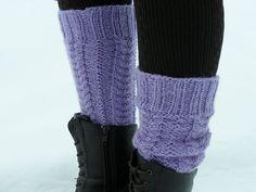 Boot Cuffs, Leg Warmers, Fingerless Gloves, Socks, Legs, Knitting, Crochet, Pattern, Accessories