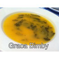Sopa de Agrião e aproveitamento da varoma para cozer o peixe da massada de peixe que adiantei poupando assim tempo :)     Receita da massada...