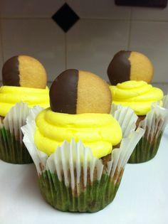 Banana Nut Cupcake