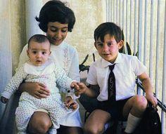 Ayrton Senna ,his sister and brother