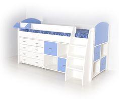 Smart halvhøy seng