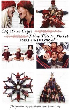 Taking Holiday Card Pics- Family Christmas Photos  Ideas and inspiration for where to take pics, family poses, style guides