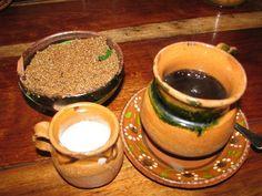 Cafe De Olla Traditional Mexican Coffee Recipe picture - my Coffee recipes - Coffee Recipes Mexican Coffee Recipe, Coffee Drink Recipes, Tea Recipes, Real Mexican Food, Mexican Food Recipes, Fancy Drinks, Yummy Drinks, Champurrado, Spiced Coffee