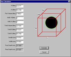 bandpass subwoofer box calculator
