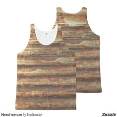 Metal texture All-Over-Print tank top - Comfy Moisture-Wicking Sport Tank Tops By Talented Fashion & Graphic Designers - #tanktops #gym #exercise #workout #mensfashion #apparel #shopping #bargain #sale #outfit #stylish #cool #graphicdesign #trendy #fashion #design #fashiondesign #designer #fashiondesigner #style