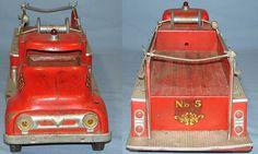 Image Detail for - Vintage Tonka Fire Department Suburban Pumper #950 Pressed Steel Truck ...