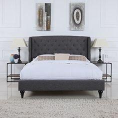 Classic Dark Grey Box-Tufted Shelter Bed Frame (Queen) Di... https://www.amazon.com/dp/B01MQWHXQF/ref=cm_sw_r_pi_dp_x_rvWAybAJFMCYP