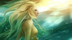 Artifex Ex Machina Humanoid Creatures, Sea Creatures, Fantasy Images, Fantasy Artwork, Fantasy Women, Artemis, Underwater City, Mermaids And Mermen, Ex Machina