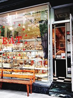 Zabar's E*A*T Cafe, 1064 Madison Ave, 10028, UES, Eli Zabar's busy deli & bakery just off Museum Mile has been a refueling stop since 1973. Zits a taste of NY.