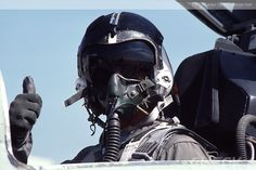 Check 6 Aviation Photography Stock Agency   Sample Gallery   Pilots   Pilot giving the thumbs up - by George Hall