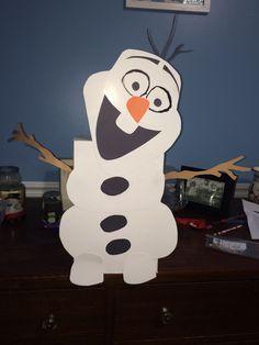 Frozen, Olaf Valentine's box.