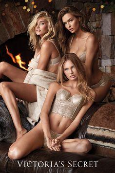 The more metallic, the merrier. | Victoria's Secret
