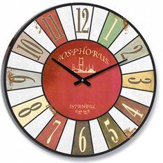 Antik Ahşap Yuvarlak Duvar Saati, Antik Ahşap Yuvarlak Duvar Saati Ürün Bilgisi ;Ürün maddesi : MDF Gövde Ebat : 60 cm Büyük boy Mekanizması : Akar saniye, sessiz çalışı