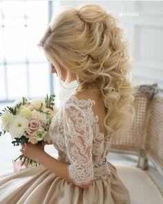 Most beautiful wedding hair ever!