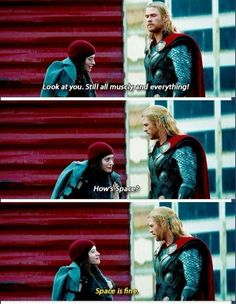 Darcy is so funny ! ;) // Thor: The Dark World