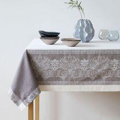 Imagen del producto Mantel y servilletas lino jacquard