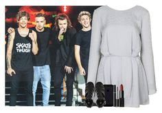 """""""watching the boys at the OTRA tour"""" by juu-jucry ❤ liked on Polyvore featuring Topshop, River Island, SUQQU and NARS Cosmetics"""