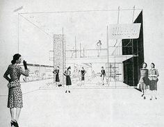 ArquiGraph: Foto Samuel Glaser and Ladislav Rado. Interiors v.104 n.3 Oct 1944: 75 | RNDRD