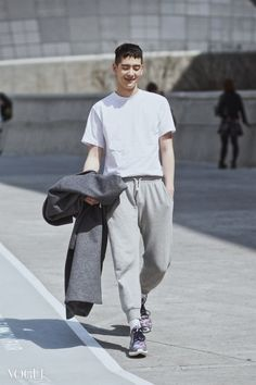 jo min ho- seoul fashion week 2015- street stye