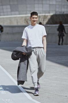 jo min ho- seoul fashion week 2015- street stye