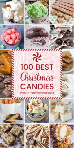 holiday treats 100 Best Christmas Candy Recipes - Homemade Christmas candy makes a great Christmas gift or addition to the Christmas dessert menu. There are 100 sweet Christmas treats here to choose from. Holiday Candy, Holiday Desserts, Holiday Baking, Holiday Treats, Party Desserts, Diy Gifts For Christmas, Christmas Snacks, Christmas Cooking, Christmas Parties