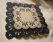 Paper cut out big lace